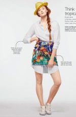 SOPHIE TURNER in Glamour Magazine, April 2014 Issue