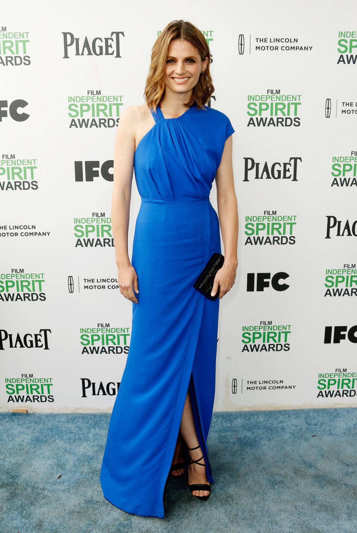 STANA KATIC at 2014 Film Independent Spirit Awards in Santa Monica