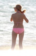 STEPHANIE MCINTOSH in Bikini on the Beach in Los Angeles