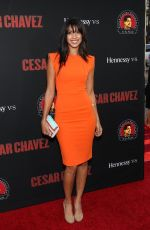 STEPHANIE SIGMAN at Cesar Chavez Premiere in Los Angeles