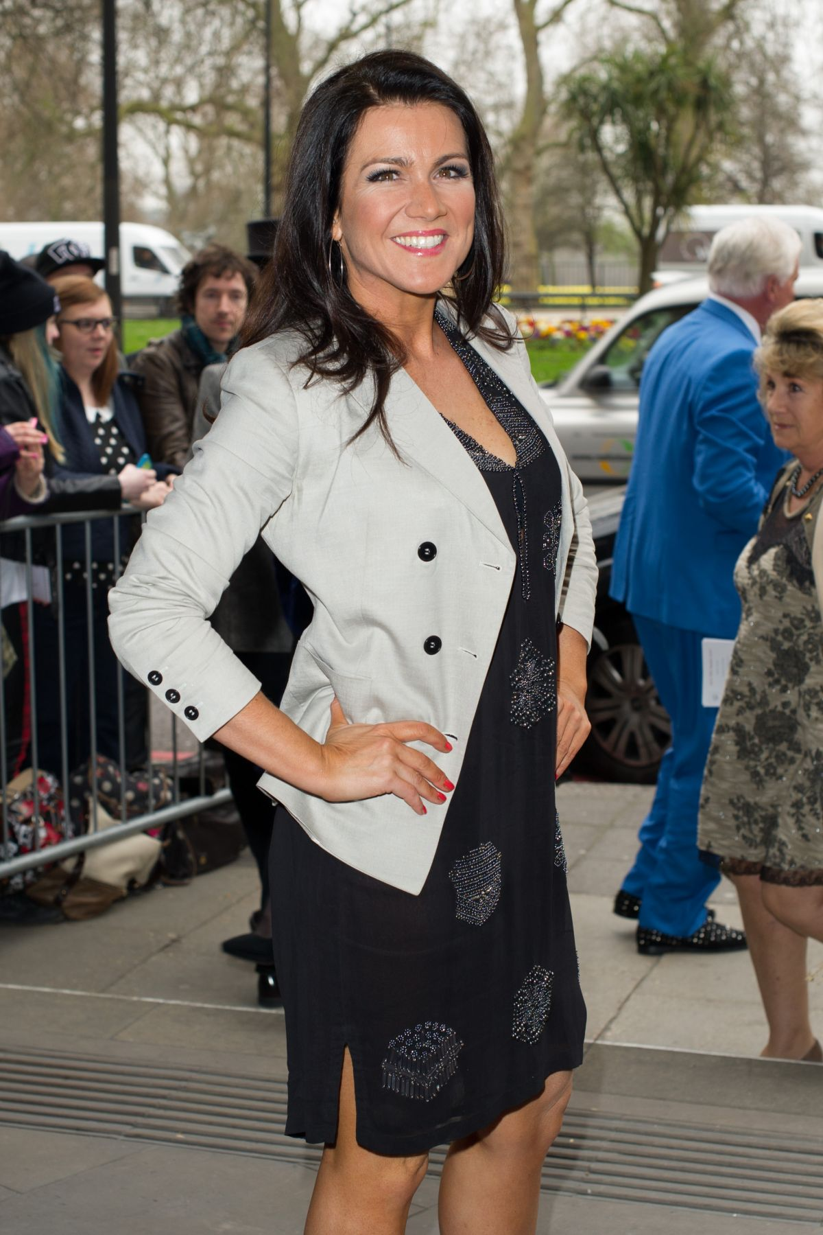 SUSANNA REID at TRIC Awards 2014 in London