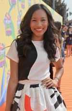 SYDNEY PARK at 2014 Nickelodeon's Kids' Choice Awards in Los Angeles