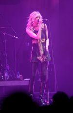 TAYLOR MOMSEN Performs at a Concert in Paris