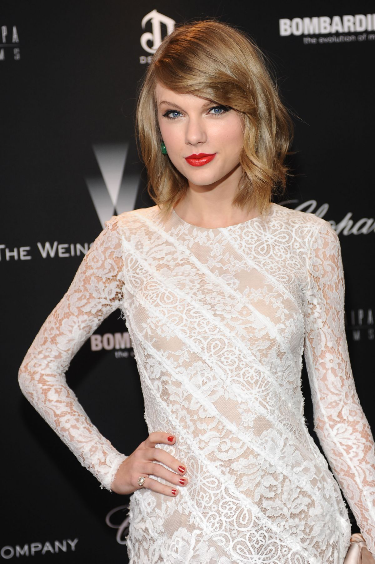 TAYLOR SWIFT at Weinstein Company