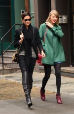 TAYLOR SWIFT in Short Dress Out and About in New York