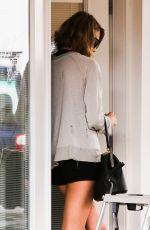 TAYLOR SWIFT in Shorts Leaves Dance Studio in Los Angeles