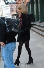 TAYLOR SWIFT Leaves Her Hotel in New York