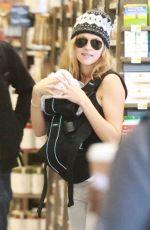 TERESA PALMER in Tight Jeans Shopping in Los Anegles