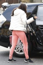THE SATURDAYS Arrives at a Dance Rehearsal Studio in London