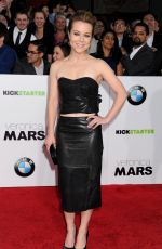 TINA MAJORINO at Veronica Mars Premiere in Hollywood