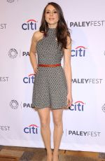 TROIAN BELLISARIO at Pretty Little Liars Panel at Paley Fest
