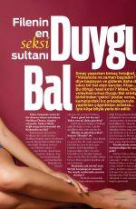 Turkish Volleyball Player DUYGU BAL in Box Magazine, August 2013 Issue