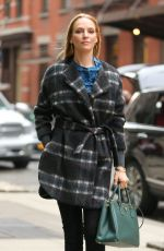 UMA THURMAN Out and About in New York