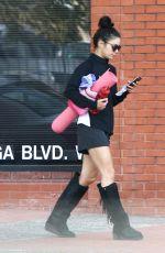VANESSA HUDGENS at a Yoga Class in Studio City