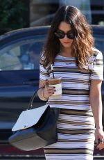 VANESSA HUDGENS at Alfred Coffee & Kitchen in Hollywood