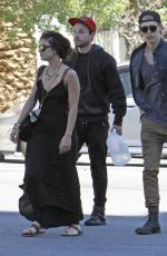 VANESSA HUDGENS Heading to a Church in Hollywood