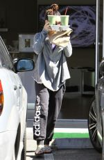 VANESSA HUDGENS Leaves a Yoga Class in Studio City