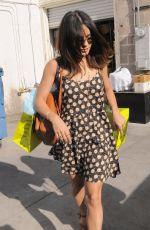 VANESSA HUDGENS Leaves Planet Blue Boutique in Los Angeles