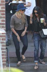VANESSA HUDGENS Leaves Urth Caffe in Los Angeles