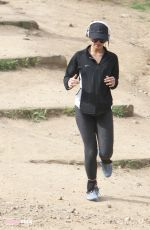 VANESSA HUDGES in Tights at Runyon Canyon in Los Angeles