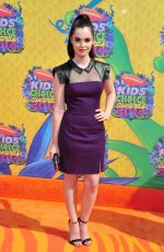 VANESSA MARANO at 2014 Nickelodeon's Kids' Choice Awards in Los Angeles