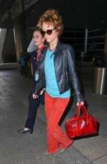 VANESSA PARADIS at LAX Airport in Los Angeles