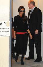 VICTORIA BECKHAM at Printemps Store in Paris