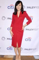 YUNJIN KIM at Paleyfest Lost 10th Anniversary Event in Beverly Hills
