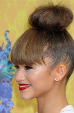 ZENDAYA COLEMAN at 2014 Nickelodeon's Kids' Choice Awards in Los Angeles