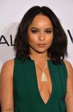 ZOE KRAVITZ at D.J. Night with L'Oreal Paris in Los Angeles