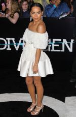 ZOE KRAVITZ at Divergent Premiere in Los Angeles