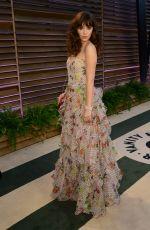 ZOOEY DESCHANEL at Vanity Fair Oscar Party in Hollywood