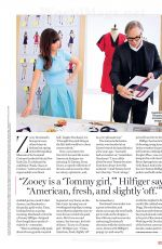 ZOOEY DESCHANEL in Glamour Magazine, April 2014 Issue