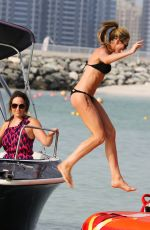 ABIGAIL ABBEY CLANCY in Bikini on the Beach in Dubai
