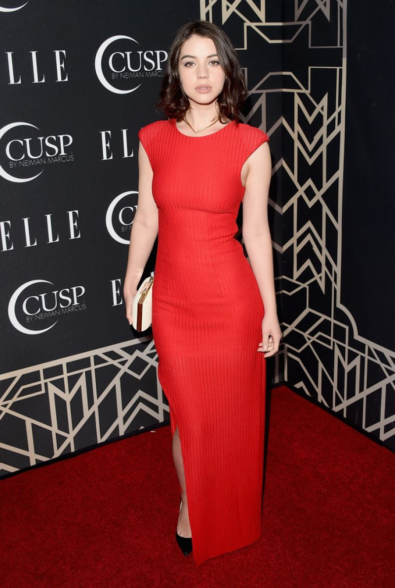 ADELAIDE KANE at 2014 Elle Women in Music Celebration in Hollywood