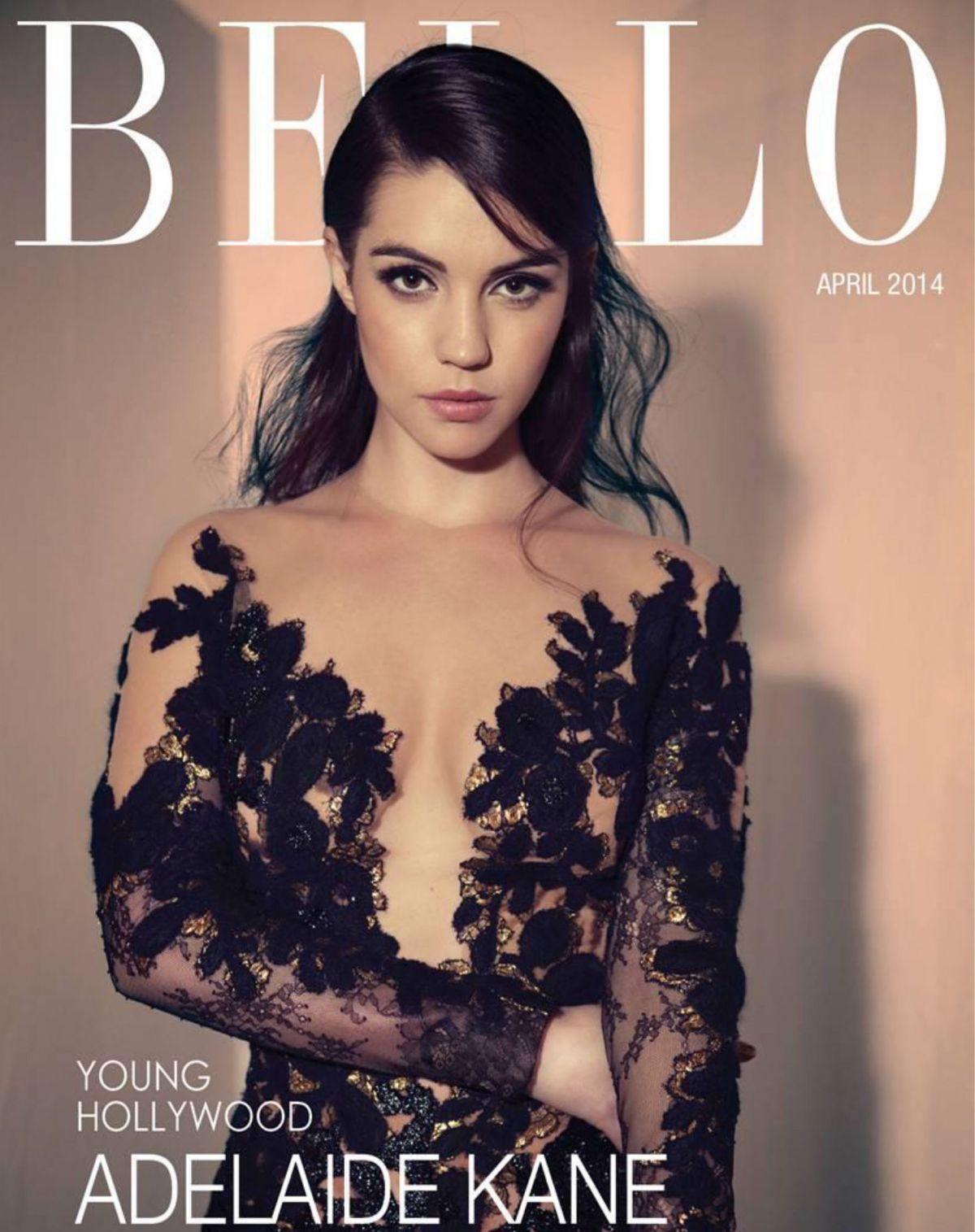 ADELAIDE KANE in Bello Magazine, April 2014 Issue