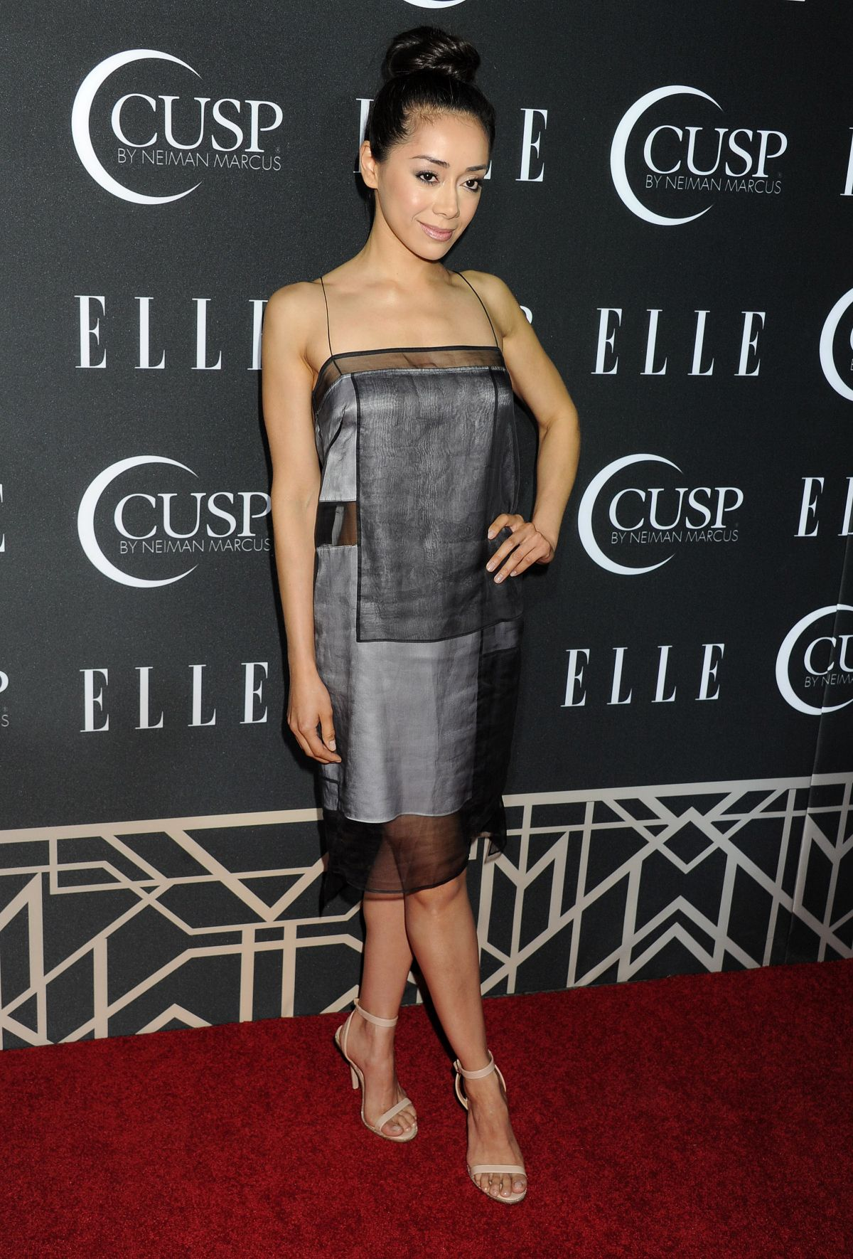 AIMEE GARCIA at 2014 Elle Women in Music Celebration in Hollywood