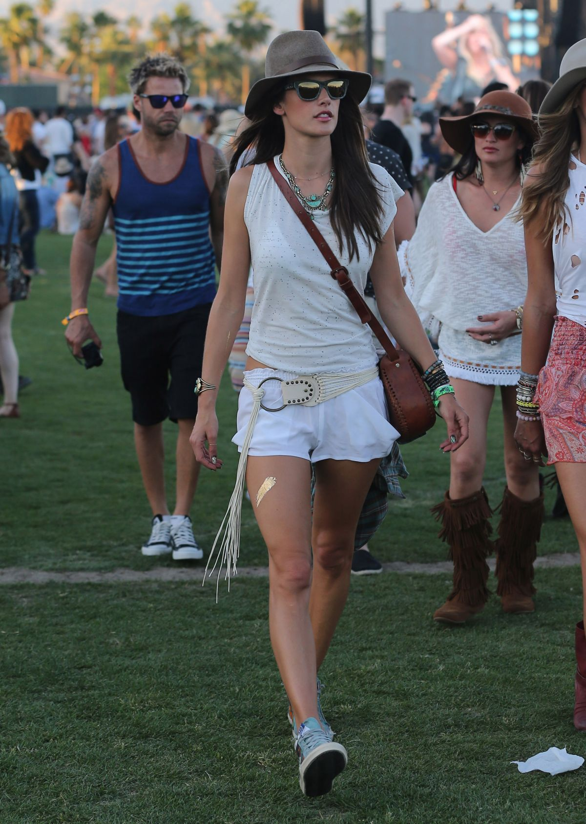 Ambrosio at 2014 Coachella