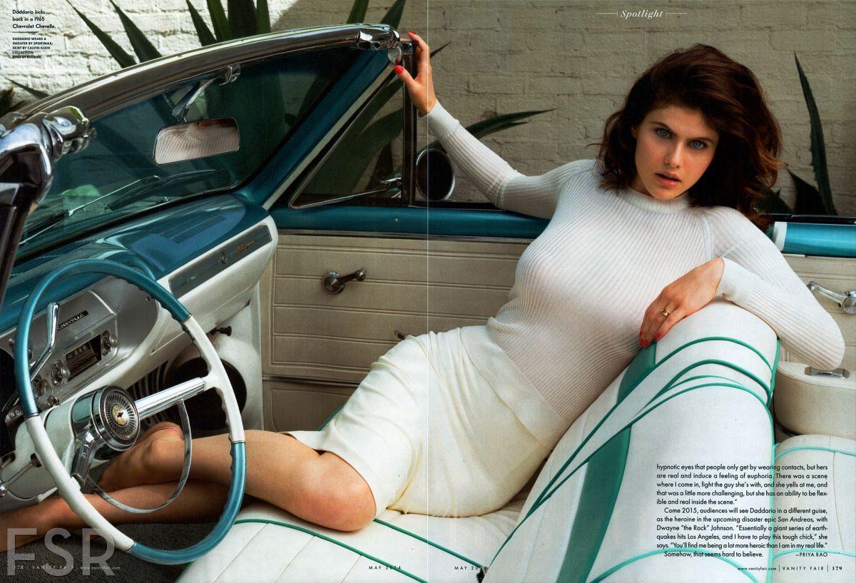 ALEXNDRA DADDARIO in Vanity Fair Magazine, May 2014 Issue