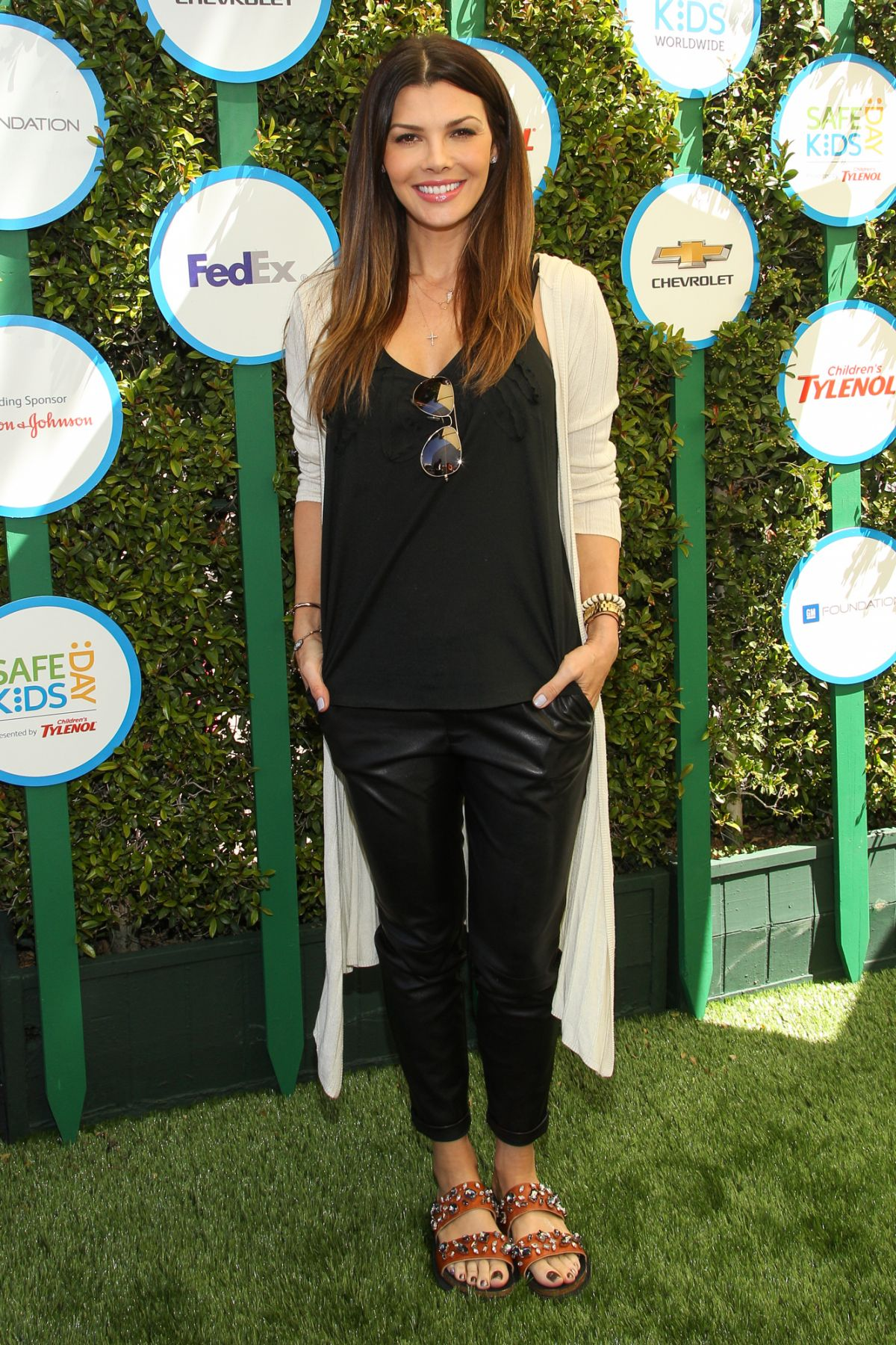 ALI LANDRY at Safe Kids Day in West Hollywood