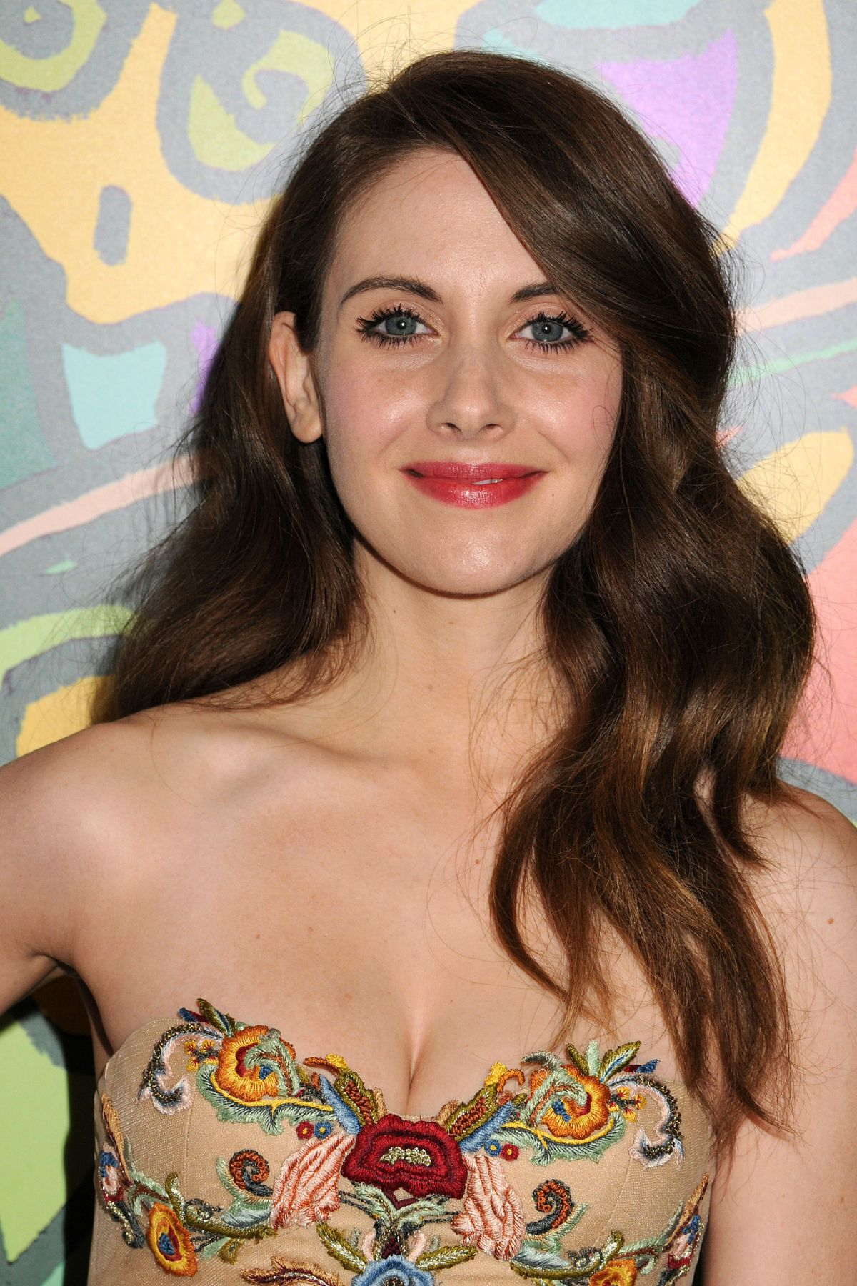 ALISON BRIE at Med Men Season 7 Premiere in Hollywood