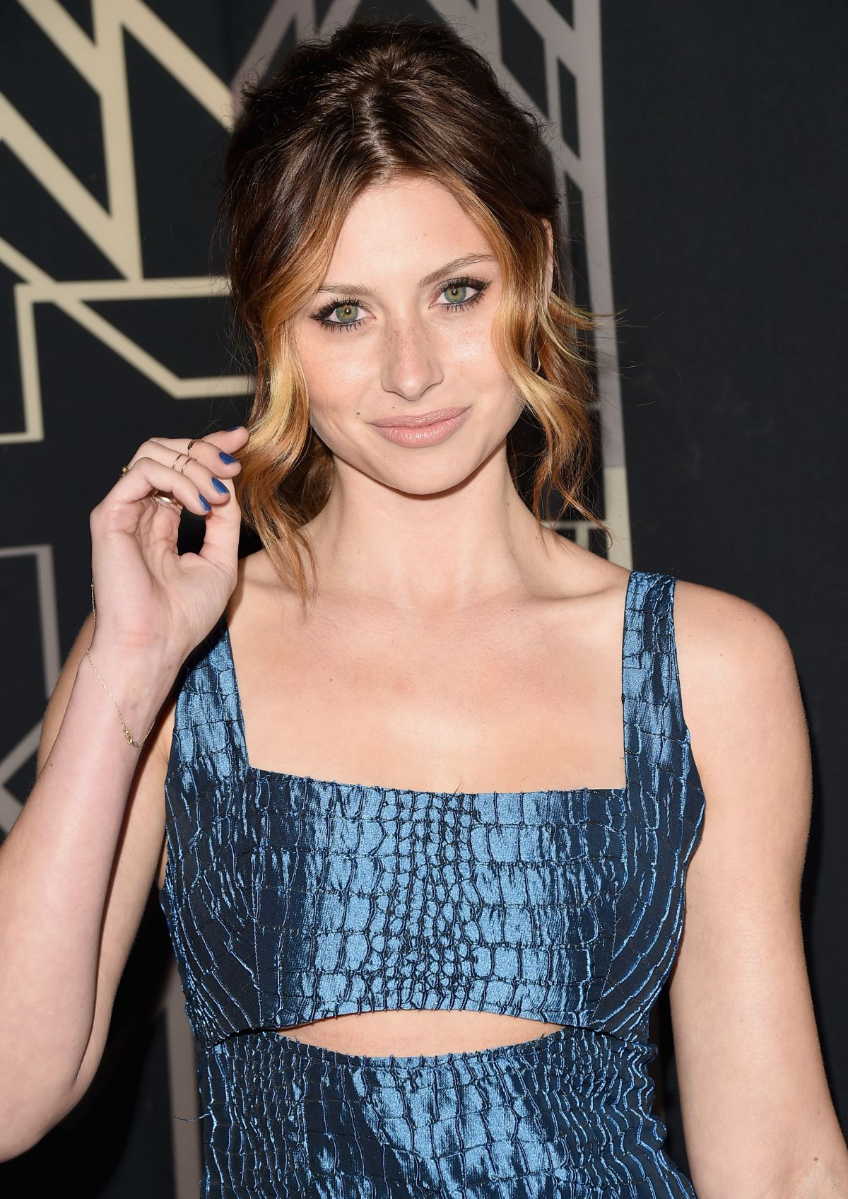 ALY MICHALKA at 2014 Elle Women in Music Celebration in Hollywood