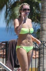 AMANDA BYNES in Bikini at a Pool in Cabo San Lucas