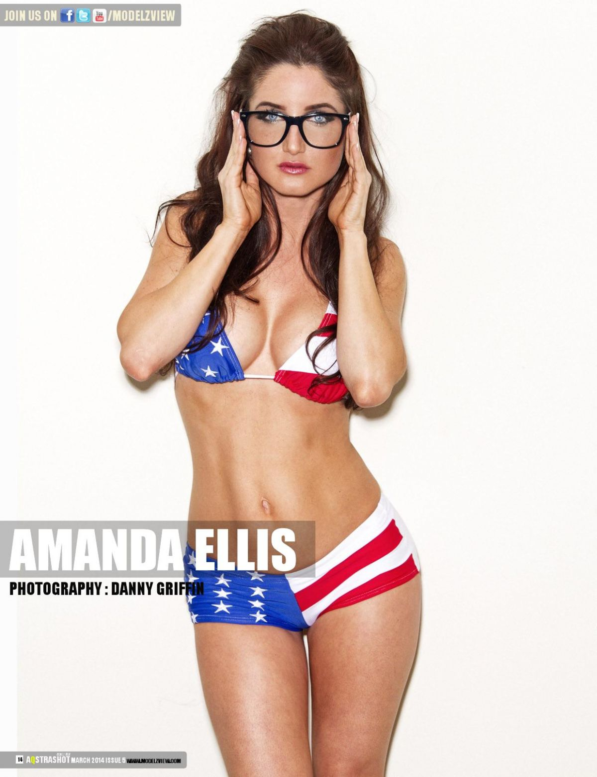 AMANDA ELLIS in Aqstrashot Magazine, March 2014 Issue