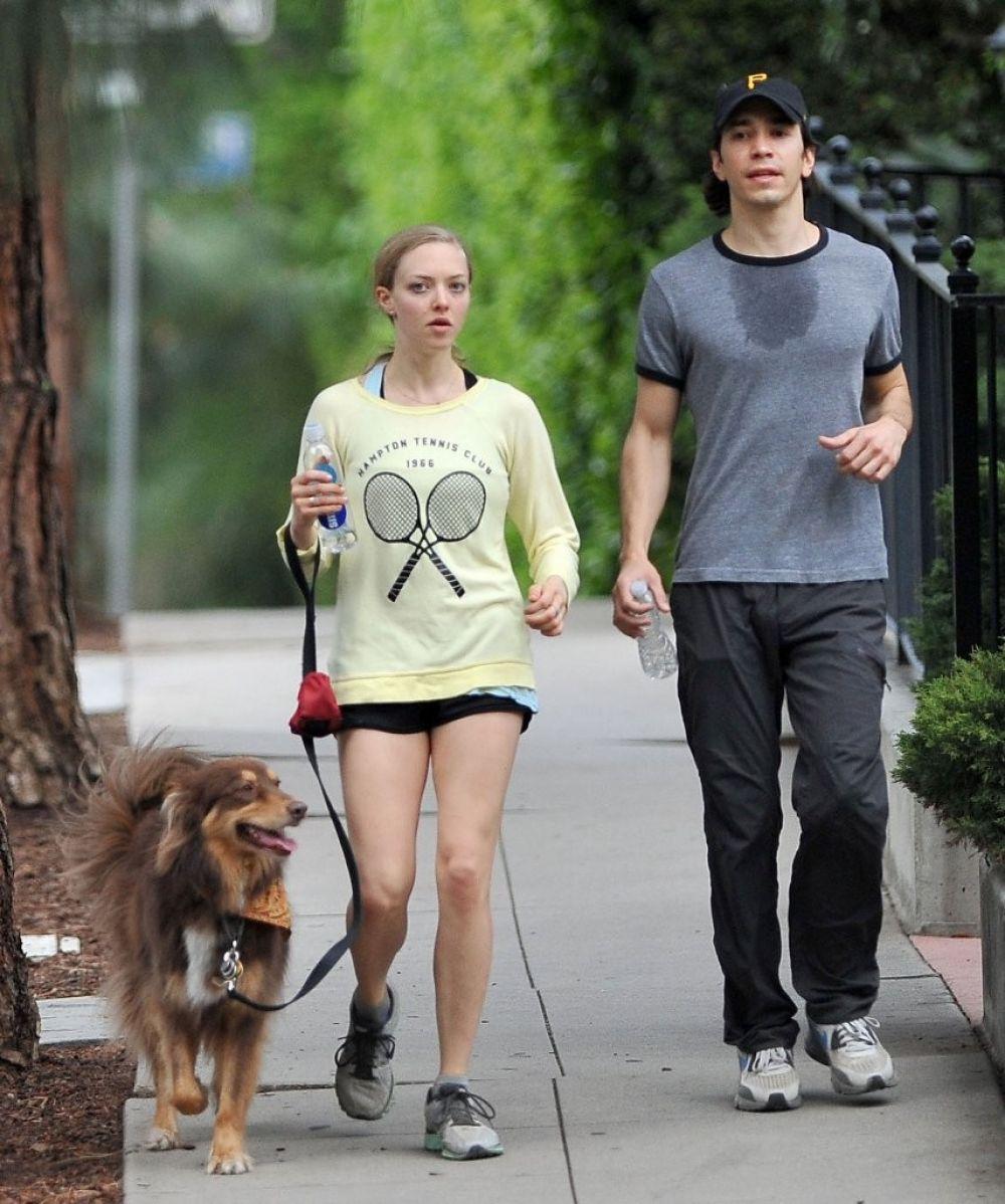 Justin Long and Amanda Seyfried split after more than two ...  |Amanda Seyfried And Justin Long
