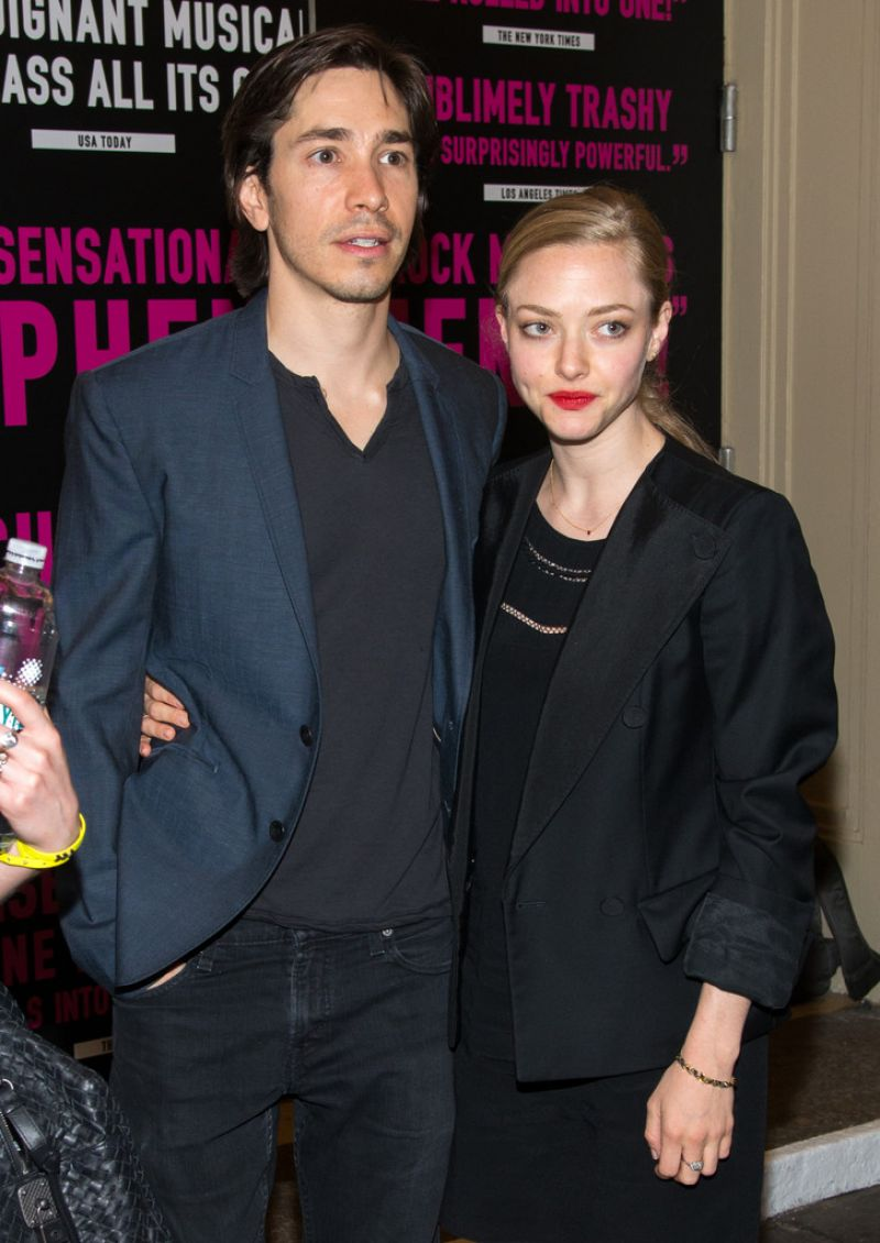 AMANDA SEYFRIED at Hedwig and the Angry Inch Broadway Opening Night