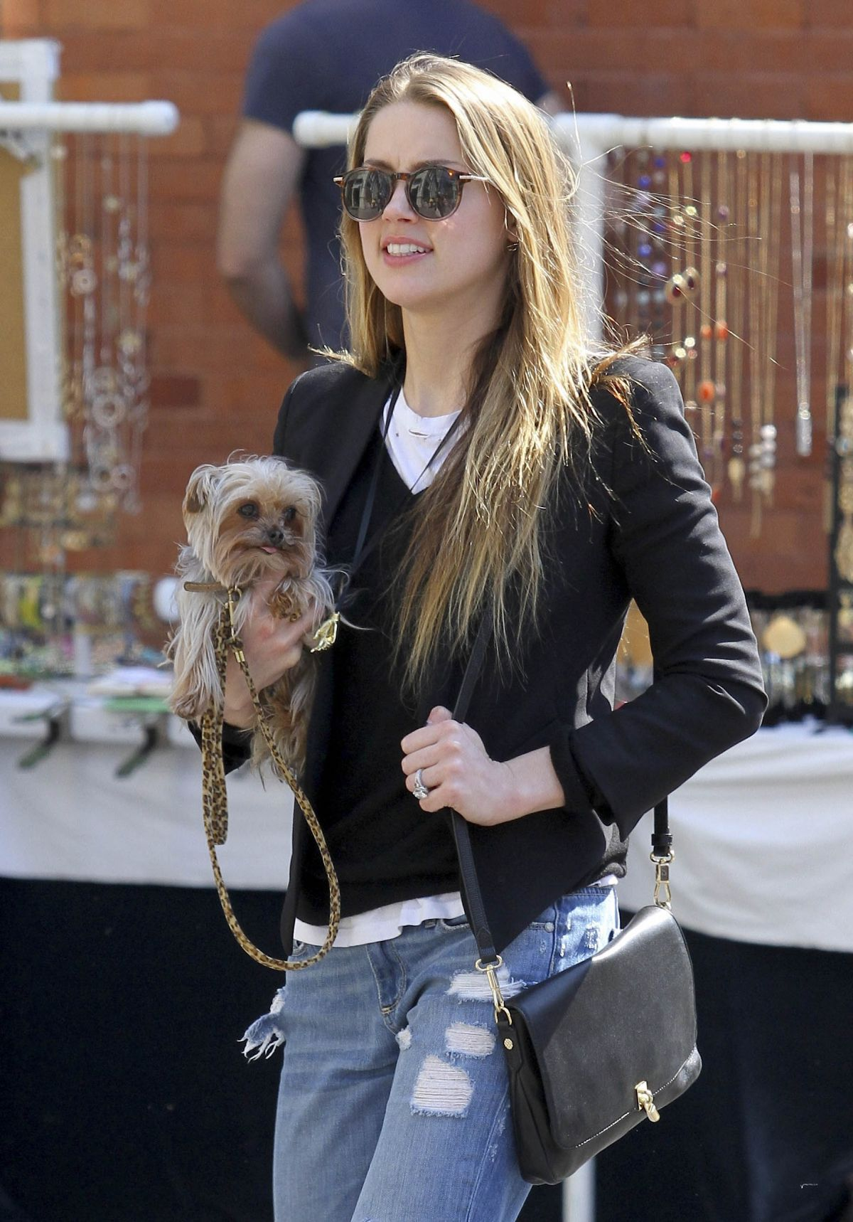 AMBER HEARD Out and About in New York 1404