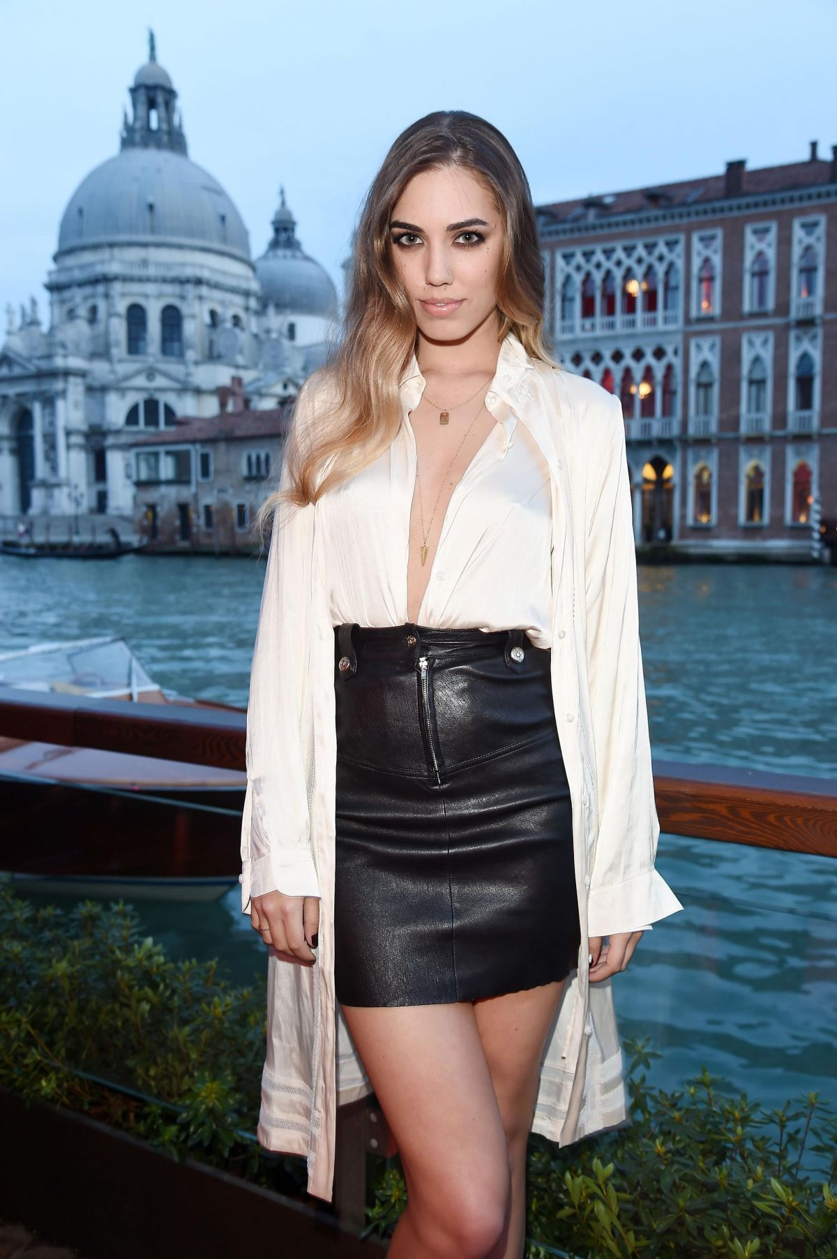 Amber le bon at diesel fall winter 2014 collection presentation in