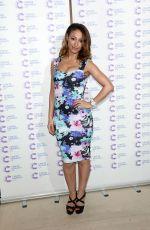 AMELLE BERRABAH at Jog on Cancer Event at Kensington Roof Gardens