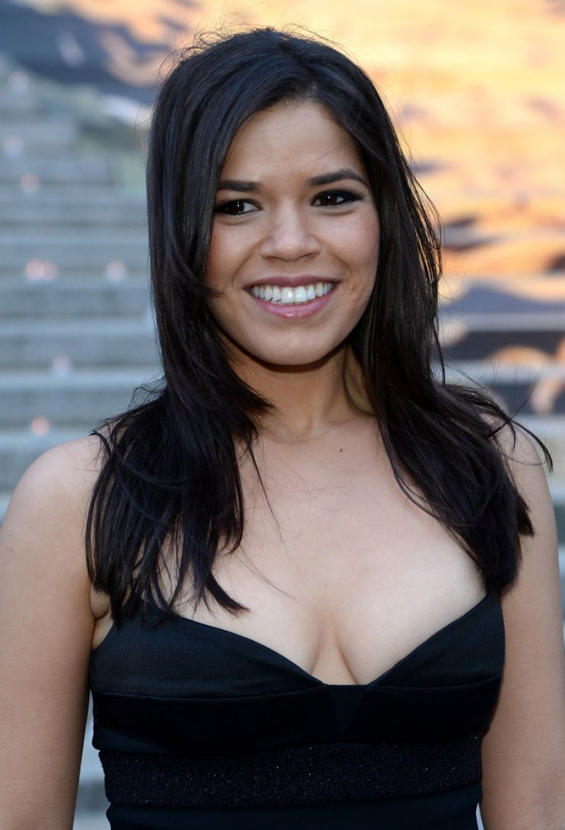 AMERICA FERRERA at Vanity Fair Party at Tribeca Film Festival